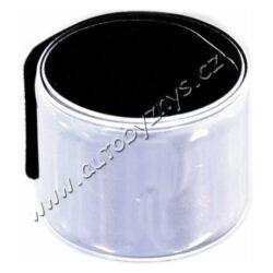 Pásek reflexní ROLLER bulk stříbrný(01519)