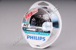12V H7 55W PX26d  X-treme VISION +130% PHILIPS sada 2ks