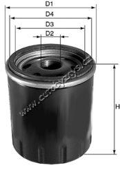 Filtr olejový CITROËN AX/BERLINGO/BX/C15/C25/C35/C5/C8/CX/ EVASION/ JUMPER(DO1801)