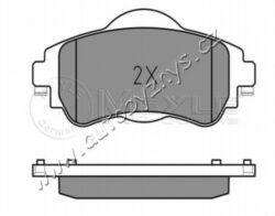 Brzdové destičky přední Citroen C4 2009- (129x61mm) MEYLE-brzdový systém: TRW délka (v mm): 129 vyska 1 ( v mm ): 53 vyska 2 ( v mm ): 61,2 tloustka/sila( v mm): 18,5 uzaviraci vystrazny kontakt: neni urceno pro uzaviraci vystrazny ukazatel