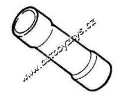 Spojka kruhová izolace-žlutá 2,5