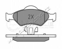 Brzdové destičky přední Ford,Mazda (151,5/150,1x51,7/54) MEYLE-tloustka/sila( v mm) 18,2 vyska 1 ( v mm ) 54 vyska 2 ( v mm ) 51,7 Sirka 1 [mm] 150,1 Sirka 2 [mm] 151,5 uzaviraci vystrazny kontakt neni urceno pro uzaviraci vystrazny ukazatel brzdovy system ATE