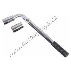 Klíč na kola 17-19/21-23 mm TÜV, GS COMPASS 09412