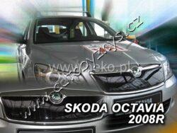 Clona zimní Octavia II 2009- horní HEKO-Zimní clony slouží k ochraně chladiče před studeným vzduchem při nízkých teplotách. Zimní clona výrazně snižuje dobu nutnou pro zahřátí motoru. Díky tomu začne topení automobilu fungovat rychleji. Zároveň se zkracuje doba nutná pro zapnutí sytiče a tím dochází k nižší spotřebě paliva.