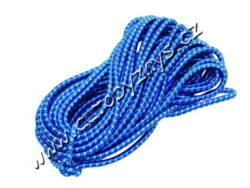 Popruh elastický 20mx10mm-Elastické gumové popruhy, opletené polyesterem.