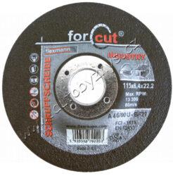 Kot.brusný kov 115x6.5x22.2 FESTA INDUST-Profesionální brusný kotouč na kov, litinu, vyrobeno v EVROPĚ!, řada kotoučů FESTA INDUSTRY je, jak již z názvu vyplývá určena zejména pro profesionální použití, kvalita ověřená reálnými zkouškami. Druh zrna - KORUND, pojivo - syntetické pryskyřice na bázi aldehydu, provedení - VYHNUTÝ, max. pracovní rychlost - 80 m/s, max. přípustné otáčky - 13300 ot/min, PRO ZVÝŠENÍ PEVNOSTI ARMOVÁNO DVOUVRSTVOU SKLOTEXTILNÍ VLOŽKOU! KOTOUČE FESTA INDUSTRY SPLNUJÍ EN 12413 a homologaci OSA!