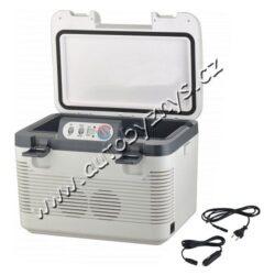 Chladící box 19l + display 220V/24V/12V DOUBLE(07130)