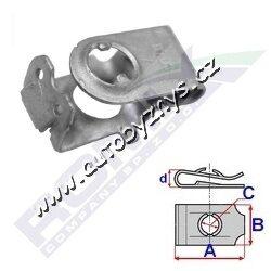 Matice plechová Audi ROMIX 8K0805163A