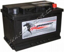 Autobaterie 12V/74Ah 680A AK power-TYP BATERIE: Bezúdržbová baterie   TECHNICÉ SPECIFIKACE  AK POWER AK 574 12 napeti [V]: 12 kapacita baterie v Ah: 56 test za studena dle EN (v A): 680 razeni polu: 0, (+) pravá druh zásuvky: 1 Spodní provedení: B13 délka (v mm): 278 Sirka v mm: 175 vyska ( v mm ): 190
