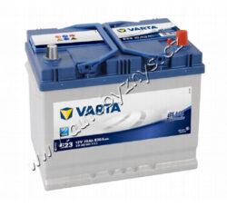 Autobaterie 12V/70Ah 630A VARTA Blue dynamic (Asia typ)-TYP BATERIE: Bezúdržbová baterie   TECHNICÉ SPECIFIKACE  VARTA 5704120633132 napeti [V]: 12 kapacita baterie v Ah: 70 startovací proud, test za studena dle EN (v A): 630 razeni polu: 0, (+) pravá druh zásuvky: 1 způsob upevnění,spodní provedení: B01 délka (v mm): 261 Sirka v mm: 175 vyska ( v mm ): 220