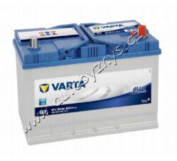 Autobaterie 12V/95Ah 830A VARTA Blue dynamic (Asia typ)-TYP BATERIE: Bezúdržbová baterie   TECHNICÉ SPECIFIKACE  VARTA 5954040833132 napeti [V]: 12 kapacita baterie v Ah: 95 startovací proud, test za studena dle EN (v A): 830 razeni polu: 0, (+) pravá druh zásuvky: 1 způsob upevnění, spodní provedení: B01 délka (v mm): 306 Sirka v mm: 173 vyska ( v mm ): 225