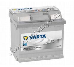 Autobaterie 12V/54Ah 530A VARTA Silver dynamic-TYP BATERIE: Bezúdržbová baterie   TECHNICÉ SPECIFIKACE  VARTA 5544000533162 napeti [V]: 12 kapacita baterie v Ah: 54 startovací proud, test za studena dle EN (v A): 530 razeni polu: 0 druh zásuvky: 1 způsob upevnění, spodní provedení: B13 délka (v mm): 207 Sirka v mm: 175 vyska ( v mm ): 190
