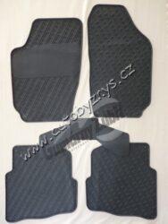 Koberce gumové Fabia 5.dílná šedé sada CZ 998930101