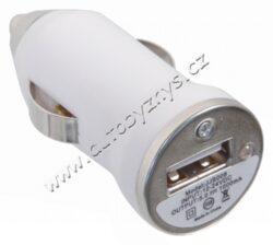 Nabíječka telefonu 220/12V (iPhone 4/5/6, micro USB, Nokia)(07681)