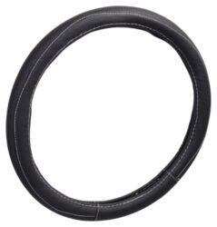Potah volantu CLASSIC černý-Potah určený k nasazení na volant o průměru 37-39cm.  Barevné provedení černá.