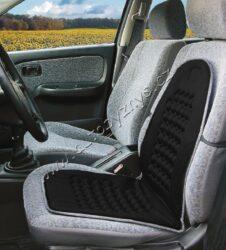 Potah sedadla masážní s magnety černý(31660)