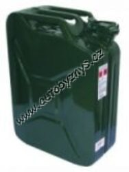 Kanystr kovový 20L-Kanystr kovový 20L