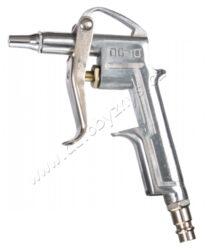 Ofukovací pistole krátká-Ofukovací pistole - prac. tlak do 6barů , spotřeba vzduchu dle tlaku od 110-300L/min.