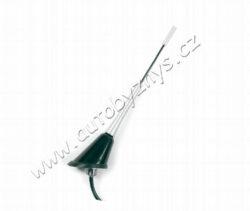 Anténa střešní AL se zesilovačem KUFIETA-Anténa střešní AL se zesilovačem KUFIETA, délka 165mm, délka kabelu 4,5m,