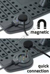 Držák telefonu s podložkou a kabelem micro USB(06259)