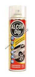 ALCOR DIP Transparentní lesk 500ml sprej-ALCOR DIP Transparentná lesk 500ml sprej. Plastická snímatelná nástřiková fólie PLASTI DIP vhodná pro ochranné a dekorativní nástřiky karosářských částí automobilů.
