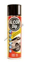 ALCOR DIP Černý mat 500ml sprej-ALCOR DIP Černý mat 500ml sprej. Plastická snímatelná nástřiková fólie PLASTI DIP vhodná pro ochranné a dekorativní nástřiky karosářských částí automobilů.