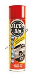 ALCOR DIP Červený mat 500ml sprej-ALCOR DIP Červený mat 500ml sprej. Plastická snímatelná nástřiková fólie PLASTI DIP vhodná pro ochranné a dekorativní nástřiky karosářských částí automobilů.