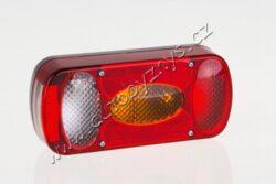 Lampa sdružená pravá s couvačkou MD-036P FRISTOM-Lampa sdružená pravá s couvacím světlem a osvětlením SPZ MD-036L FRISTOM, rozměry  šířka 215mm, výška 100mm, hloubka 55mm