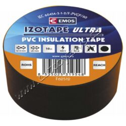 EMOS Izolační páska PVC 25mm / 10m černá