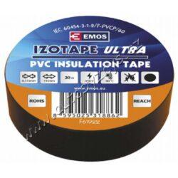 EMOS Izolační páska PVC 19mm / 20m černá