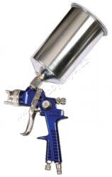 Pistole stříkací (horní) SW 881P alu-Kvalitní kompresorové pistole a příslušenství, určené pro řemeslo, domácnost a průmysl, pracovní tlak 5barů - max. 8barů, velikost trysek nastavena pro perfektní krytí.