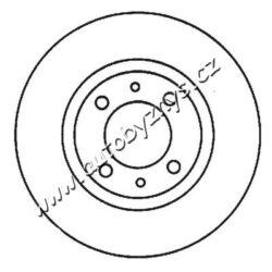 Brzdový kotouč zadní Alfa Romeo,Fiat,Lancia 240,5x11  BRADI-typ brzdoveho kotouce: plný průměr v mm: 240,5 sila brzdoveho kotouce v mm: 11 minimalni tloustka (v mm): 9,2 Centrovaci prumer [mm]: 59 vyska ( v mm ): 40 Počet děr: 4 velikost závitu: 13 Kruhový vyvrt ? 2 [mm]: 98
