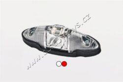 Lampa poziční LED bílo/červená FRISTOM FT-038