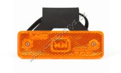 Lampa poziční LED oranžová s držákem WAS 217Z(17932)