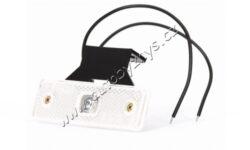 Lampa poziční LED bílá s držákem WAS 219Z