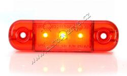 Lampa poziční LED červená SLIM WAS W97.1(17949)