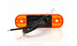 Lampa poziční LED oranžová SLIM WAS W97.1(17950)