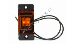 Lampa poziční LED oranžová WAS W60(17953)