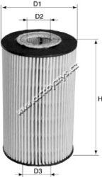 Filtr olejovy Mercedes KRAFT(ML027)