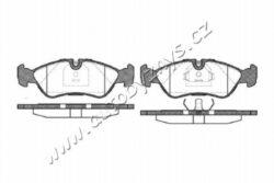 Brzdové destičky přední Daewoo,Opel REMSA 0286.20-DAEWOO-Sirka v mm: 156,3 vyska ( v mm ): 52,3 tloustka/sila( v mm): 17,5 uzaviraci vystrazny kontakt: bez vystrazneho uzaviraciho kontaktu brzdovy system: ATE