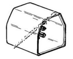 Obal zástrčky s jazýčkem 6,3mm-11 pólů