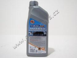 Antifreeze G12+ 1000ml CARLINE - chladící kapalina-baleno po 8ks