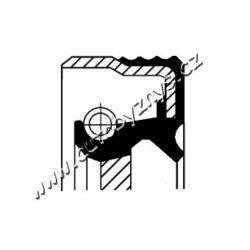 Gufero klikové hřídele 31x50x8 Chevrolet,Daewoo,Opel CORTECO-montovací strana: přední, vepředu Vnitřní průměr 1 [mm]: 31 vnejsi prumer 1 [mm]: 50 vyska 1 ( v mm ): 8 Materiál: FPM (Fluor-Kautschuk) Typ závitu: pravotociva sroubovice protiprachová ochrana: s těsněním proti prachu