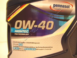 Olej motorový 0W-40 HIGHTEC VW 502.00.505.00 Pennasol 5L(H5412)